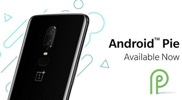 OnePlus 6 Android Pie