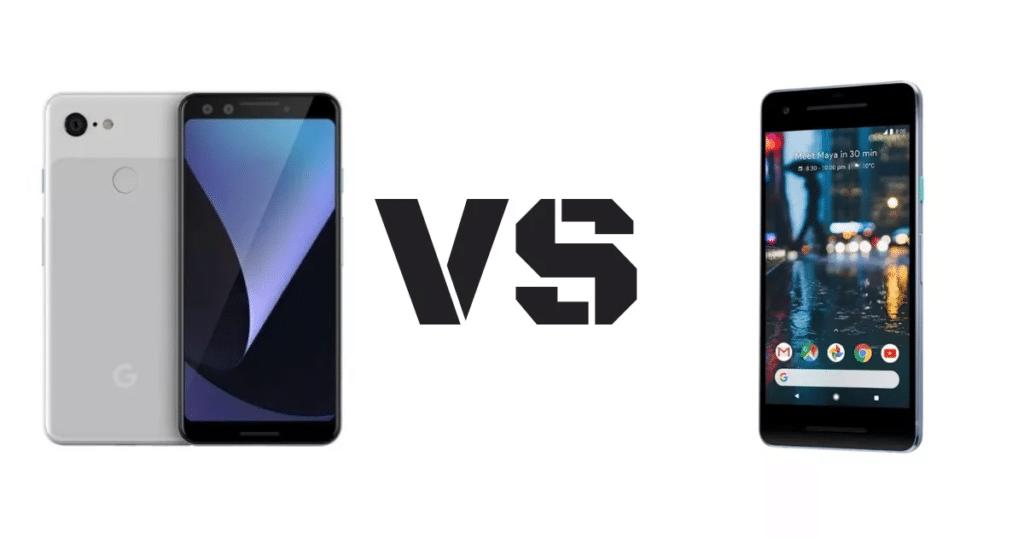 Google Pixel 3 vs Google Pixel 2