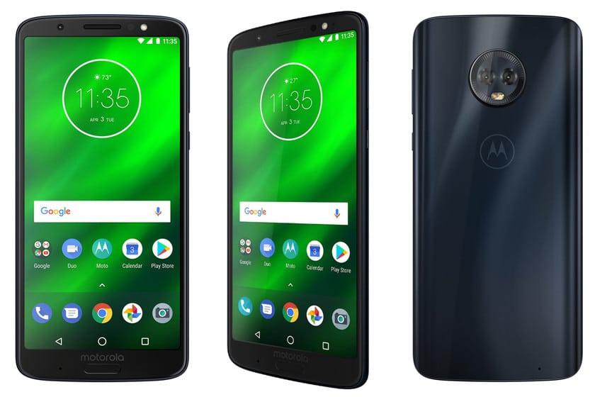 Llega al Moto G6 Plus la actualización de Android 9.0 Pie