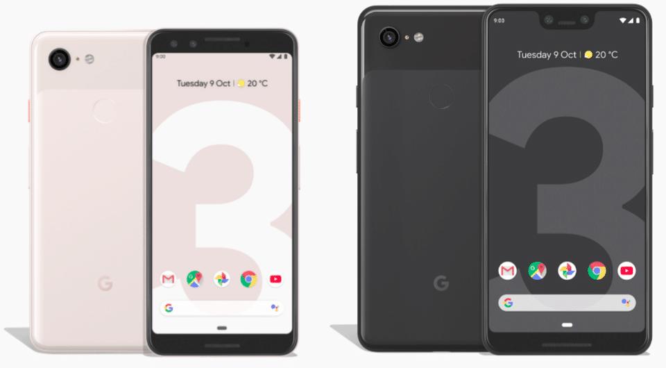 Google Pixel 3 vs Pixel 3 XL