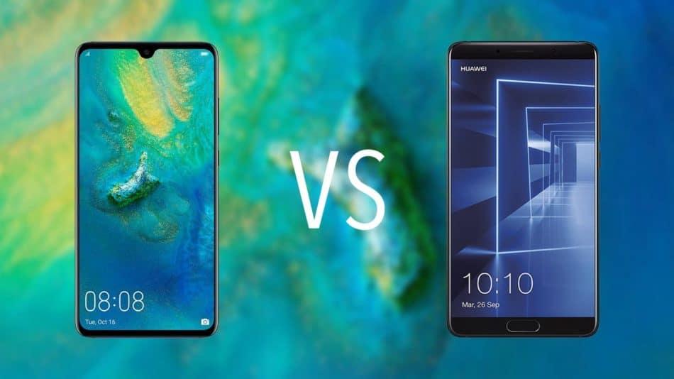 Huawei Mate 10 vs Mate 20