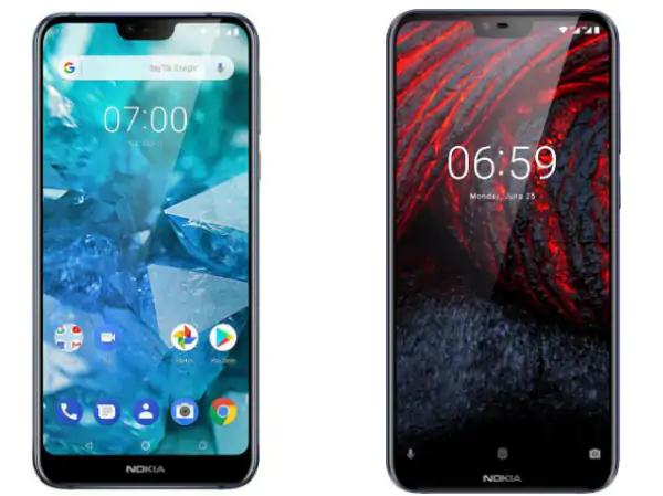 Nokia 7.1 vs Nokia 6.1 Plus
