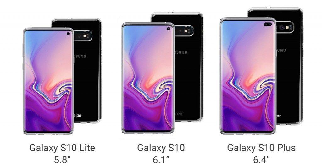 La serie Galaxy S10 de Samsung