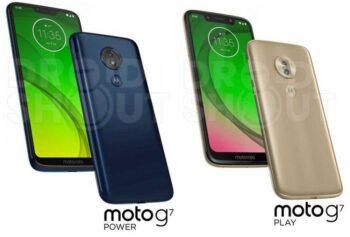 Moto G7 Power y Moto G7 Play
