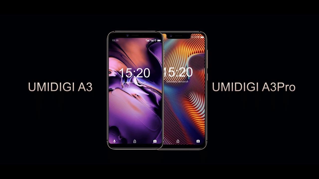 UMIDIGI A3 vs UMIDIGI A3 Pro