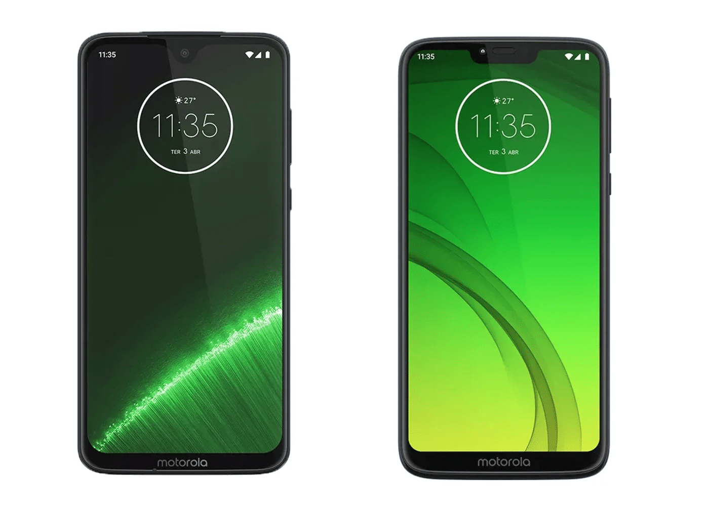 Motorola Moto G7 Power con G7 Plus