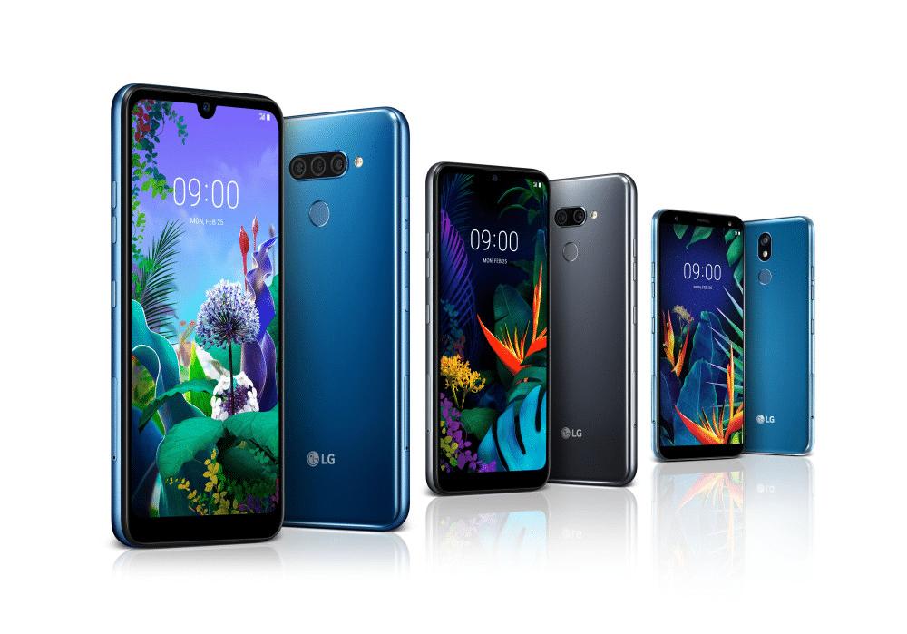 LG Q60, K50 y K40