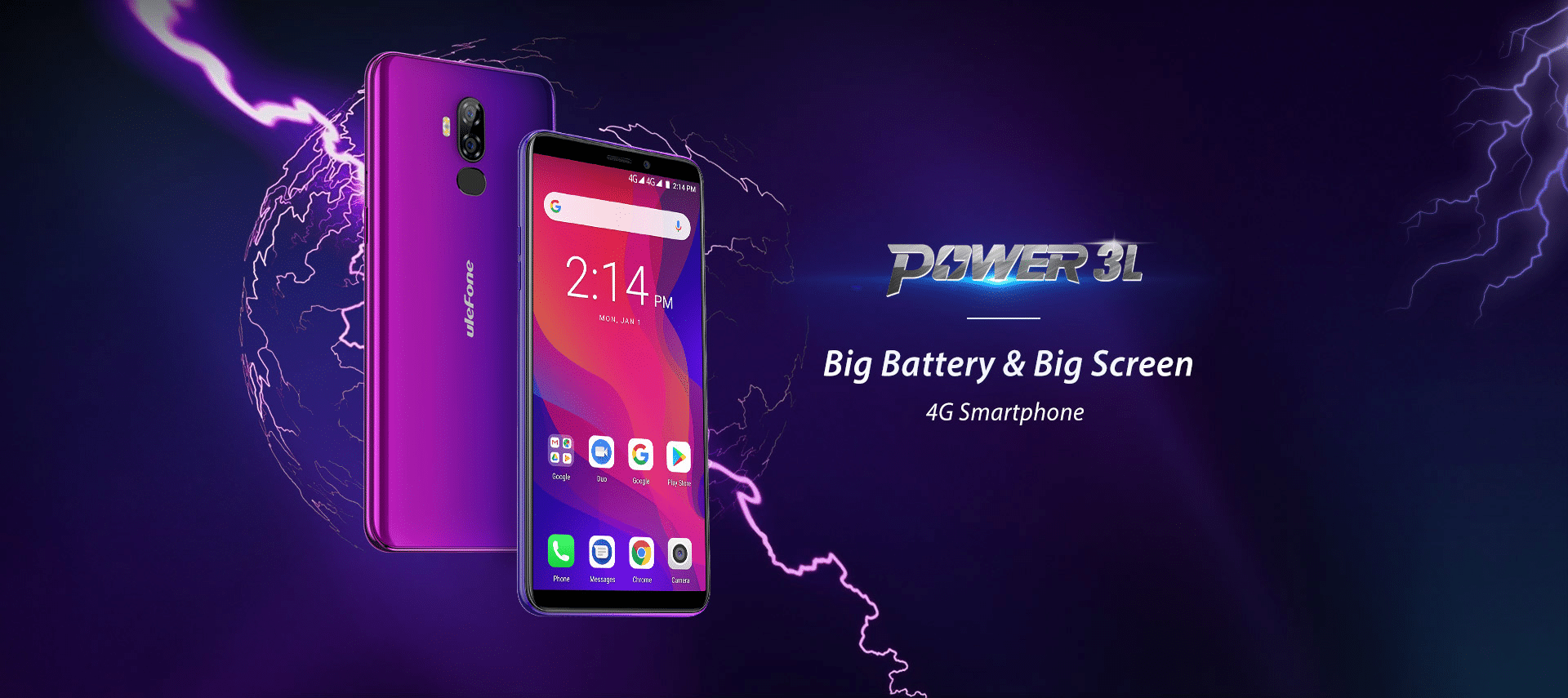 Ulefone Power 3L