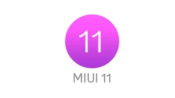 la actualización de MIUI 11