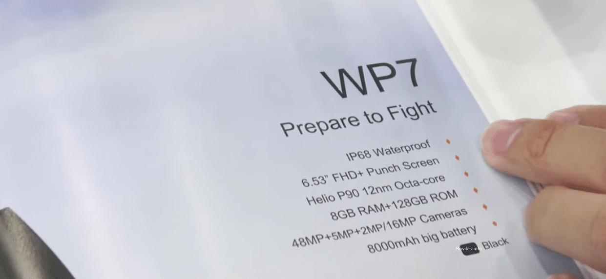 Oukitel WP7 y Oukitel WP6 características