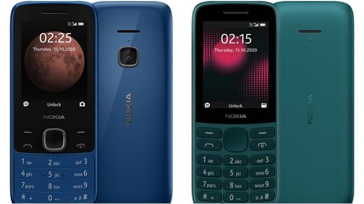 Nokia lanza Nokia 215 4G y Nokia 225 4G